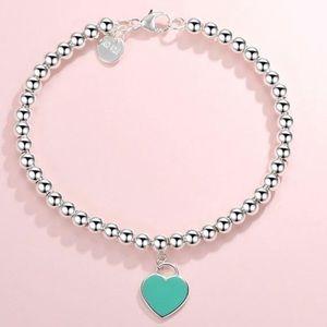Tiffany & Co. Jewelry - Authentic Tiffany's Blue Beaded Bracelet.